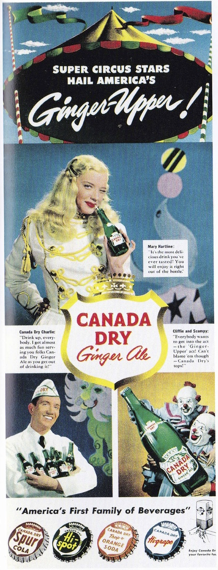 fifties advertising canada dry